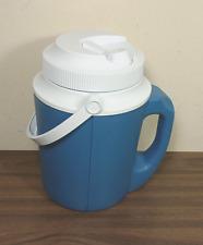 New listing Vintage Rubbermaid Gott 1522 Half Gallon Water Jug (80s/90s) Sky Blue 2 Handles!
