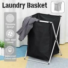 Large Foldable Laundry Hamper Basket Washing Clothes Bag Storage Organizer