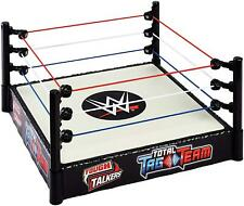WWE Tough Talkers Total Tag Team Ring Wrestling Interactive Playset Mattel DEALS