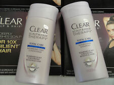 10 Sets Shampoo Conditioner 1.75oz Clear Scalp & Hair Therapy Total Care Travel