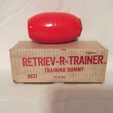 Retrieve-R-Trainer Red Plastic Dummy-New Old Stock
