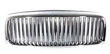 02-05 Dodge Ram 1500 2500 3500 Chrome Chromed Vertical Front Hood Grill Grille