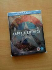 Captain America First Avenger Blu Ray Steelbook (HMV Exclusive UK) OOP (Rare)