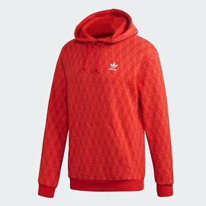 Men's Adidas Originals 'Mono AOP' Hooded Sweatshirts (FM3407)