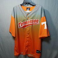 PUMA Tennessee Volunteers Mens Size XL Baseball Jersey NCAA University