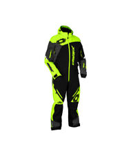 Castle X Freedom Mens Shell Snow Monosuit Black/Hi-Vis/Charcoal