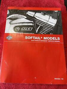 2016 Harley Davidson Softail Service Manual Nice Condition #99482-16
