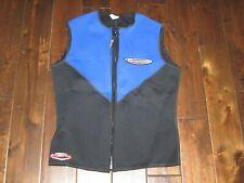 nice HENDERSON AQUATICS MICROPRENE Dive Wear 2mm Vest Blue/Black sz XXL USAmade