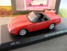 1/43 DetailCars 211 Chevrolet Corvette ZR 1 Cabrio rot