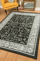 GRAY DESIGNER AREA RUG FOR THE HOME NEW ROOM SIZE 8X10