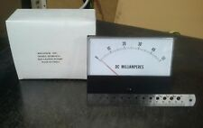 Panel Meter, 0 - 50 Ma DC Amp Meter. 130 x 100mm