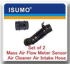 2 Pc Mass Air Flow Sensor & Air Cleaner Intake Hose Fits AVEO AVEO5 G3 G3 WAVE