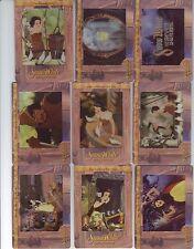 Artbox Disney Classic Movie Film Cardz 72 Card Complete Set Snow White Fantasia
