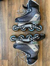 Nike N-Dorfin 4 Max Air Inline Rollerblades Women Size 7 - Broken Clip