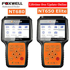 Foxwell NT680 + NT650 Elite Package OBD2 Scanner Diagnosis & Service Reset Tool