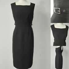 LINEA UK16 Black Pencil Sheath Work Smart Formal Career Executive Office Dress