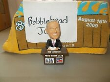 ANNOUNCER DESK BOB SCHIEFFER FORT WORTH CATS BOBBLEHEAD SGA