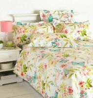 Butterfly Duvet Cover with Pillow Case Quilt Bedding Set Single Double King Size