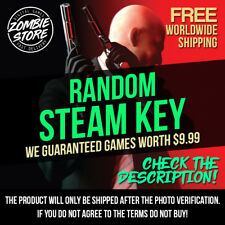 Random Steam Key / PC Game / Guaranteed +$9.99 Game - Fast Delivery!