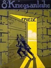 PROPAGANDA WAR WWI AUSTRIA HUNGARY LOAN PEACE DOOR SUN ART PRINT POSTER BB6981B