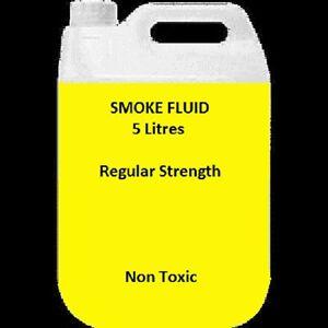 5 Litres Smoke Machine Fluid Juice Liquid Fog Mist DJ 5L Regular Medium Ylw
