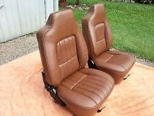 Holden Hj Hx Hz Ute Pannelvan,Coupe Or Sedan Front Seat Skin Covers Mid Brown