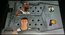 Kevin Garnett/T.Hansborough 2009-10 Playoff Contenders ROUND NUMBERS Insert Card