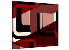 Red Black Painting Bathroom Canvas Accessories - Abstract 1s410s - 49cm