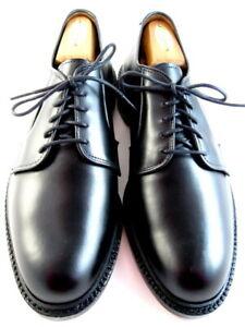 """NEW Allen Edmonds  """"Leeds"""" Dress Plain-Toe Blucher Shoes 8 E Black  USA  (559)"""