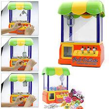 Toy Candy Grabber Prize Machine Joystick Catch Gum Dolls Arcade Game Party Kids