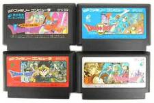 "NINTENDO FAMICOM "" DRAGON QUEST I II III IV "" 1 2 3 4 WARRIOR SET FC NES"