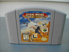 NINTENDO 64 STAR WARS ROGUE SQUADRON GAME CARTRIDGE ONLY CLEANED & TESTED