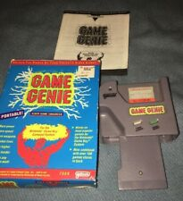 Game Genie Game Enhancer Cheats! Nintendo Game Boy With Box