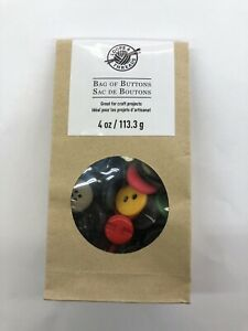 New! 4 oz Bag of Buttons Assorted Sizes & Colors Sewing Art & Crafts