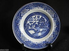 Dessert Plates 1940-1959 Blue & White Transfer Ware Pottery