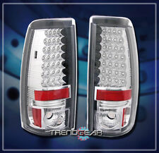 2003-2006 CHEVY SILVERADO/GMC SIERRA LED TAIL LIGHTS REAR LAMP 2004 2005 2500 HD