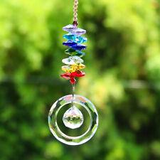 Fengshui Magic Crystal Ring Wedding Decor Suncatcher Chandelier Pendant Hanging