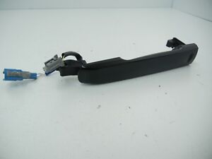 Infiniti G25 G37 2010 Black Front Left Driver Door Handle with access switch OEM