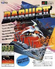 Darius II 2 America Odan Ultra Quiz MD GB JAPANESE GAME MAGAZINE PROMO CLIPPING
