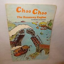 Choo Choo The Runaway Engine Book 1965 Vintage Train Paperback