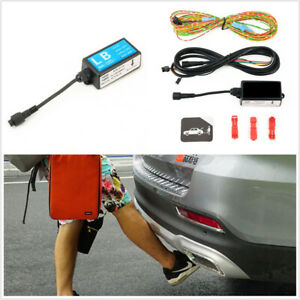 1X Car Foot Sensor Trunk Release Opener Kick Activated Fit For Power Tailgate
