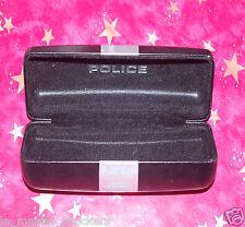 POLICE boite étui vide rigide de lunettes soleil montures mixte Vintage