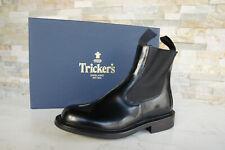 Tricker's 37,5 4,5 Stiefeletten Chelsea Boots Schuhe schwarz NEU ehem. UVP 520 €