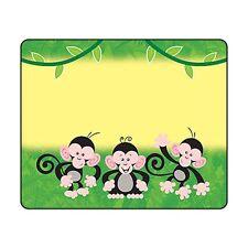 Monkey mischief ® nom tag autocollants/étiquettes-school teachers, birthday parties
