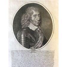 Antoine d'Aumont de Rochebaron marquis de Villequier Daret de Cazeneuve fin XVII