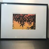 Bede Van Dyke Art Signed Mono Print With Polyester Plate Litho 2013