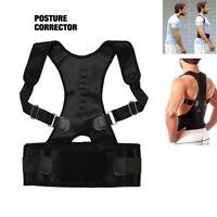 Néoprène Magnétique Correcteur Posture Orthopédique Ceinture Dos S/M/L/XL G