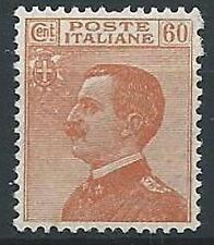 1926 REGNO EFFIGIE 60 CENT LUSSO MNH ** - T147