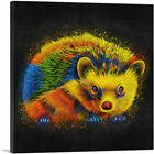 ARTCANVAS Hedgehog Animal Canvas Art Print