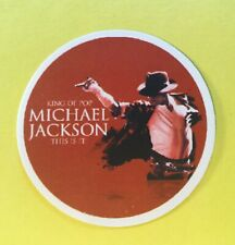 King of Pop Michael Jackson This Is It Laptop Cell Phone Car Decal Sticker